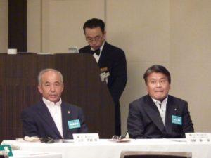 玉井孝雄ZCと箕嶋陽一地区委員の訪問を受けました