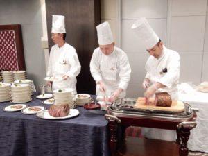 お料理は深町哲さんのご協力により解説付きの豪華で美味しいものでした