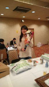 留学生にも日本の伝統行事、文化に触れ体験していただきました。