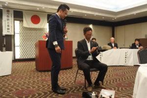 (株)ナカムラ 中村匡孝様より「足元のおしゃれについて」の講演をして頂きました