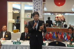 栗山則博さん スピーチ