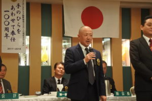 松岡慶典さん スピーチ