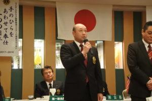畑田直毅さん スピーチ