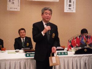 吉川通泰さん スピーチ